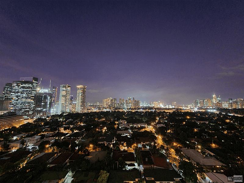 Ultra-wide Night mode