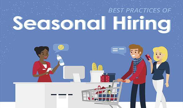 Best Practices of Seasonal Hiring #infographic
