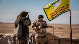 Kurdish-held Syrian northeast