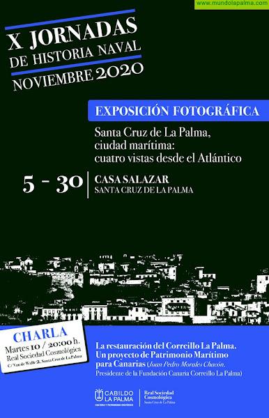 El Cabildo de La Palma inaugura mañana las X Jornadas de Historia Naval de la capital