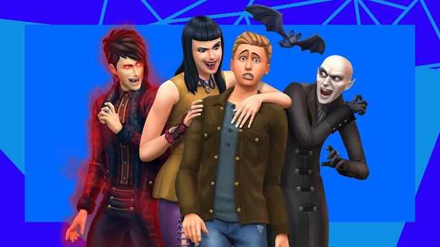 Коды для игрового набора «The Sims 4: Вампиры»