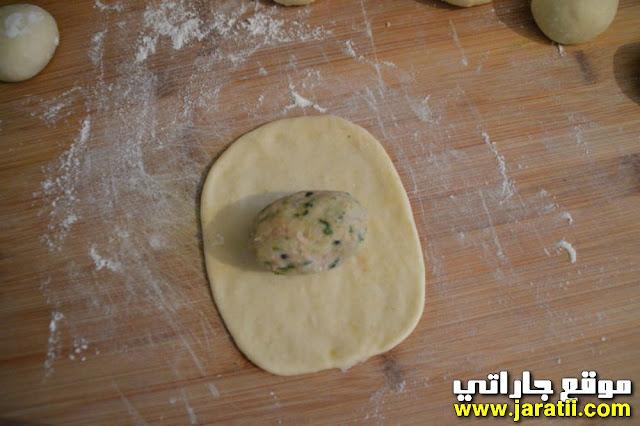 فطائر البطاطس والتونة