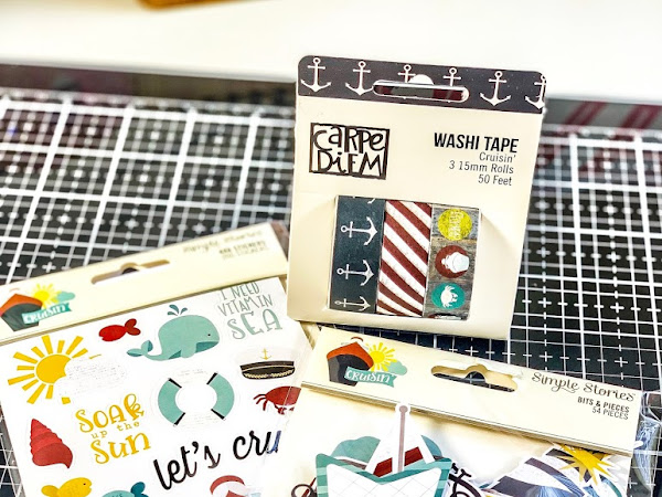 New in the Shop | Simple Stories Cruisin' | Scrapbooking Journal