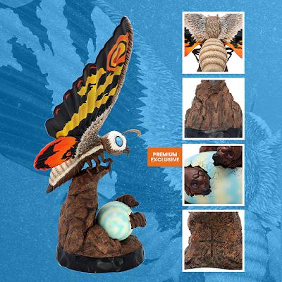Godzilla: Tokyo SOS Mothra Premium Statue by Mondo
