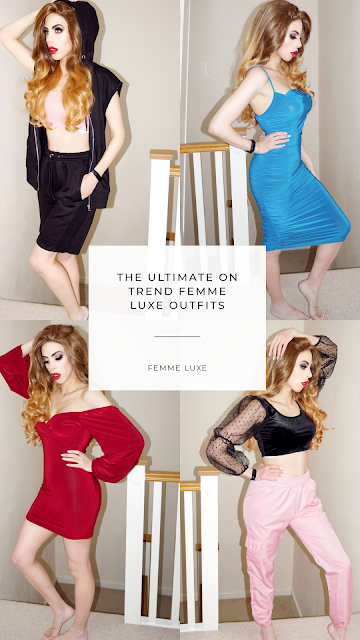 the ultimate on trend Femme Luxe Outfits.