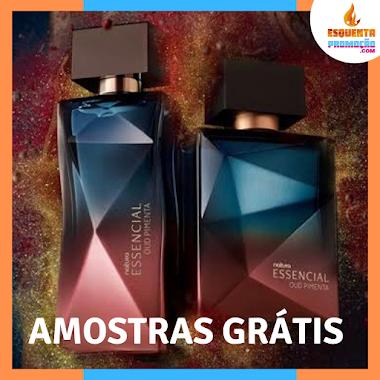 Amostras grátis - Natura Perfume Essencial Oud