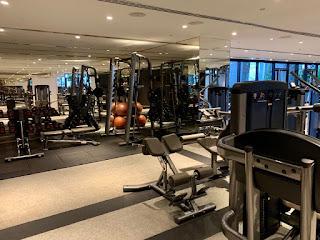 Fitness equipment, JW Marriott Singapore Beach Road, 2021