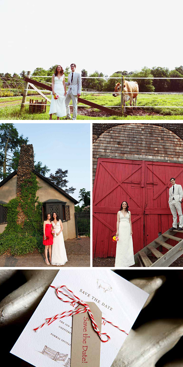 unique and personal rustic DIY wedding on working organic farm | photos by Kella McPhee