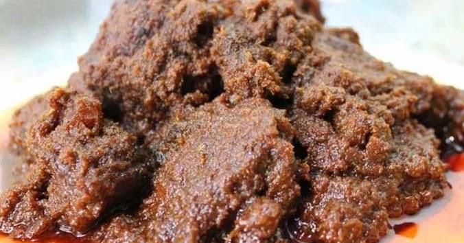 resep  membuat rendang daging sapi bumbu rempah sederhana  enak resep masakan Resepi Ayam Rendang Brunei Enak dan Mudah