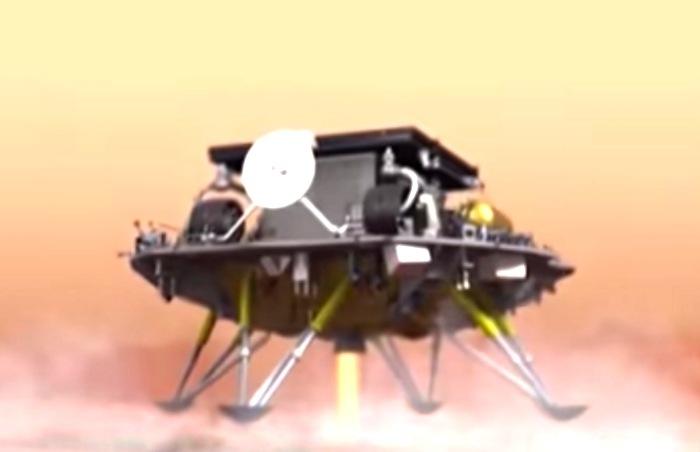 Mars mission China
