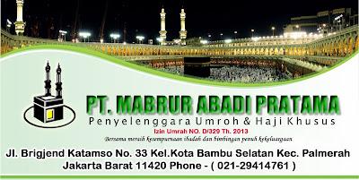 Travel Umroh Mabrur Abadi Pratama di Jakarta
