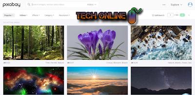 موقع pixbay للحصول علي الصور بدون حقوق