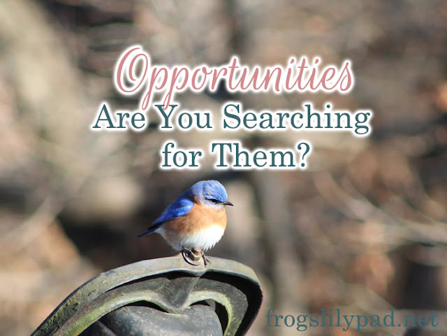 Another year, another month, another day. Are you searching for opportunities to make them count?