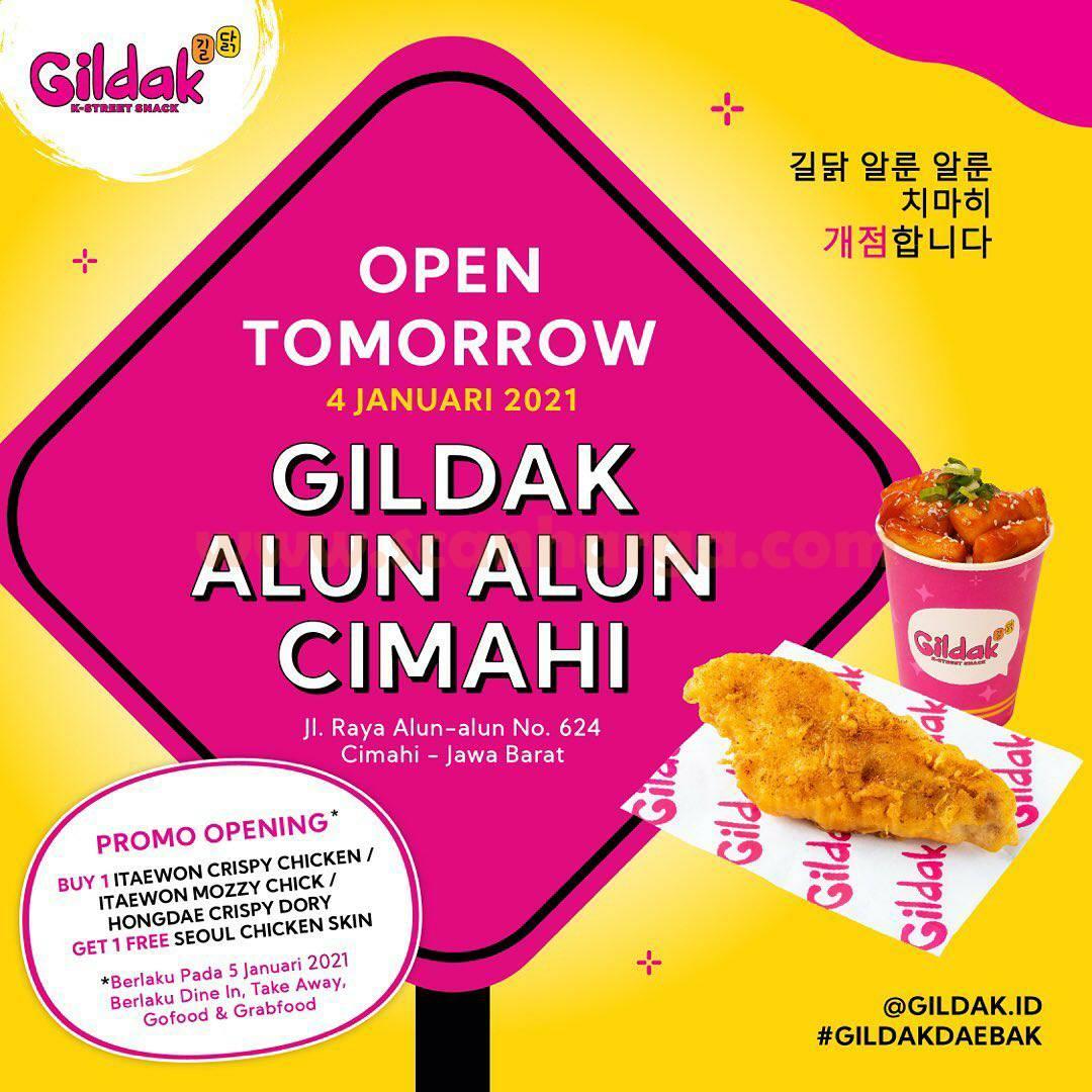GILDAK Alun Alun Cimahi Opening Promo Beli 1 Gratis 1