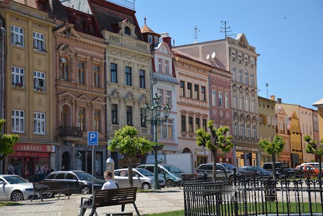 Rynek w Broumovie - atrakcje turystyczne Broumova, zabytki czeskich miast, ciekawe miejsca w Czechach, Czechy, Klasztor w Broumovie,