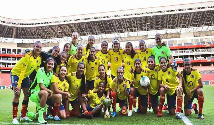 Selección Colombia Femenina Goleó a Ecuador En El Segundo Partido Amistoso.