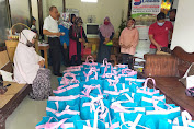 Ikatan Alumni SMPN Bangunkerto Turi (IKABA) Bagikan Ratusan Bingkisan untuk WargaTerdampak  Pandemi