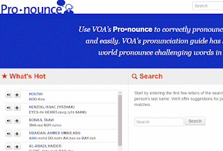 Pronounce VOA News