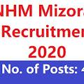NHM Mizoram HNARUAK - Post 40 A Ruak E