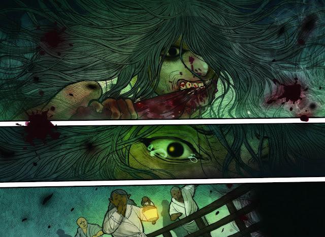 monstressa, tom 2, krew, non stop comics, recenzja komiksu, marjorie liu, sana takeda