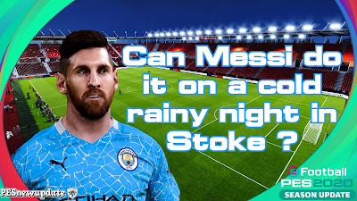Messi is Good... But Can He Do It On a Cold Rainy Night in Stoke?