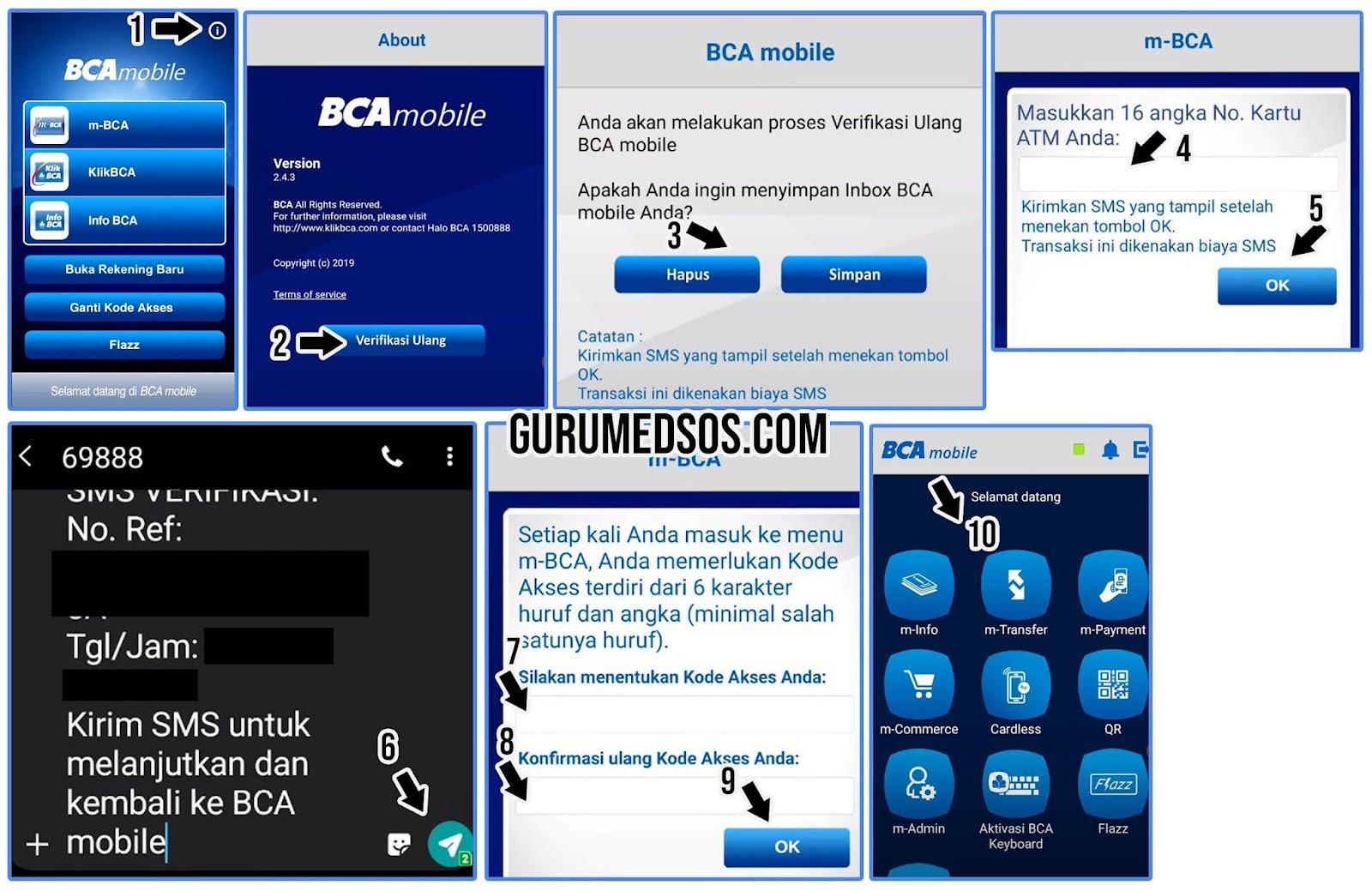 M banking BCA Terblokir