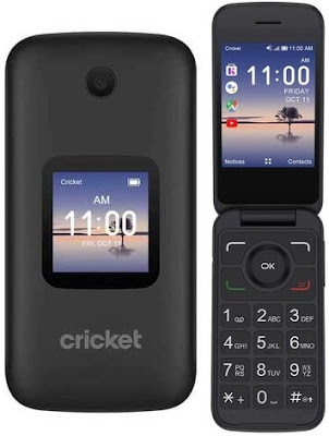 Cricket flip phones