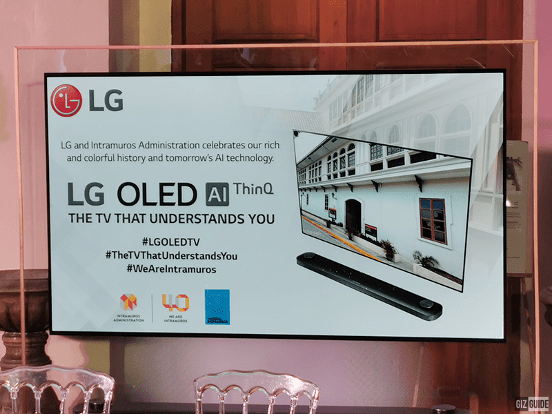 According to LG, it is the TV that understands you