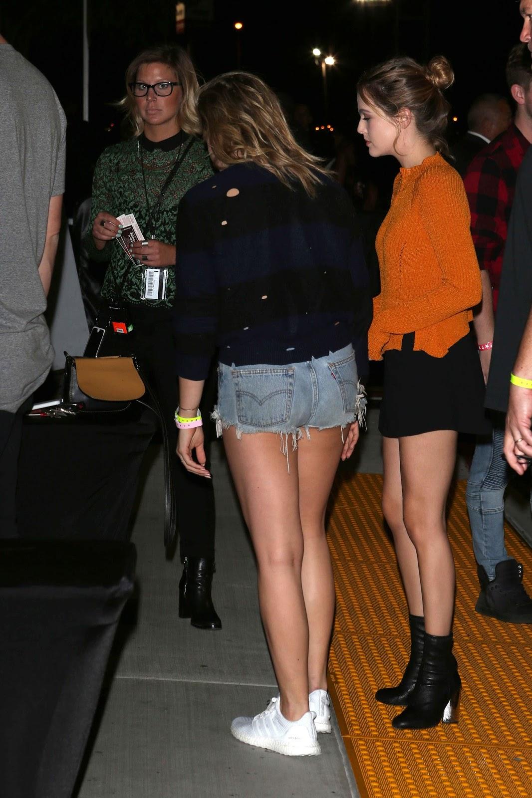 Chloe Moretz at Drake's Summer Sixteen Tour at The Forum