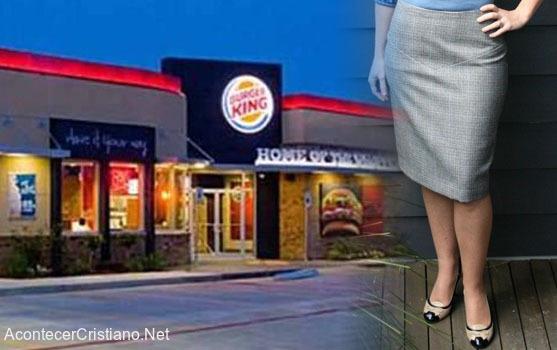 Burger King vestimenta de empleados