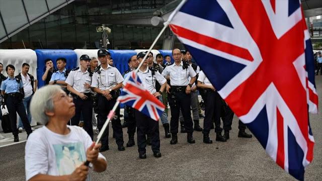"""China acusa a Londres de """"mentalidad de Guerra Fría"""" por Hong Kong"""