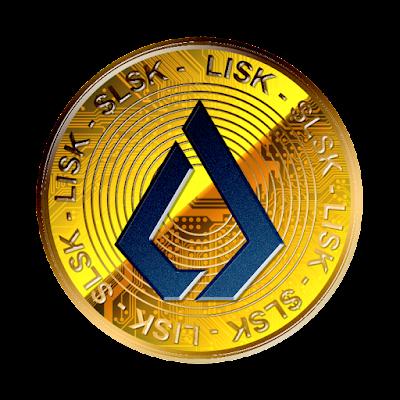 暗号通貨リスク新ロゴverのフリー素材(金貨青ver)