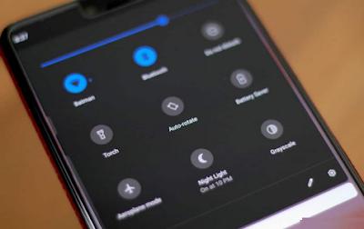 Cara Menyesuaikan Pengaturan Cepat Pada Samsung Galaxy S8 dengan mudah