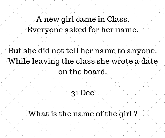 A New Girl Came in Class