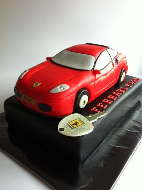 taart ferrari Ferrari 3D taart | Taarten; Gemaakt door Jonne taart ferrari