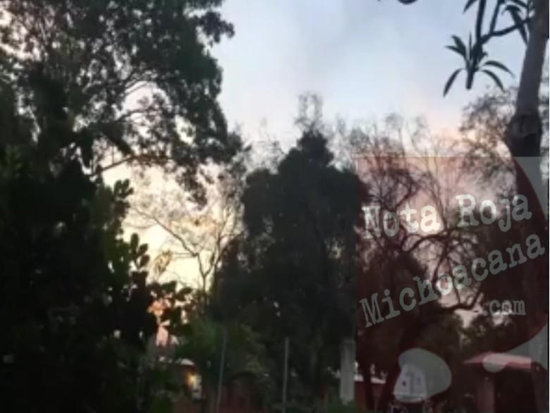 (VIDEO) Graban ráfagas del enfrentamiento en Gambara, Nueva Italia