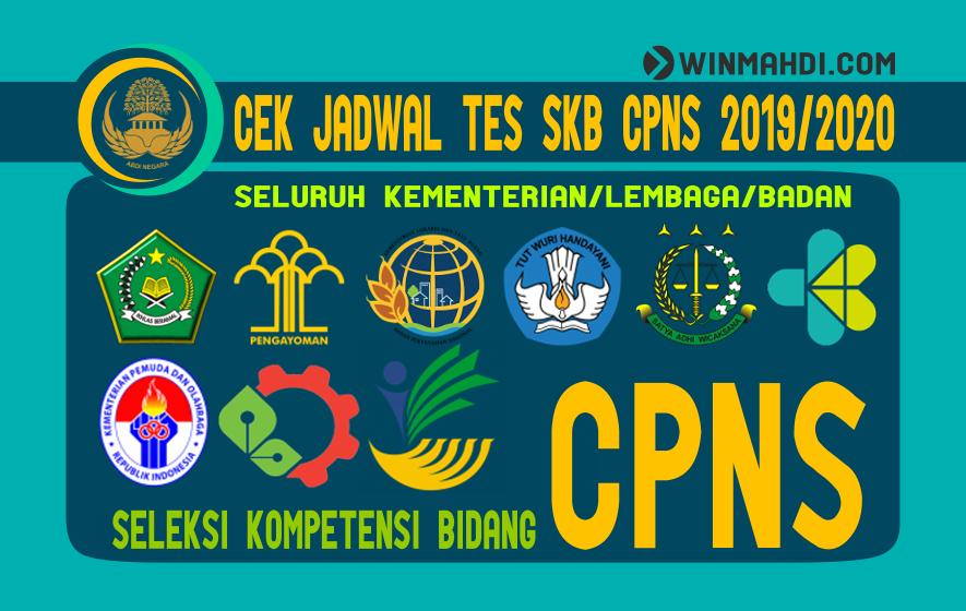 CEK JADWAL TES SKB CPNS 2019-2020