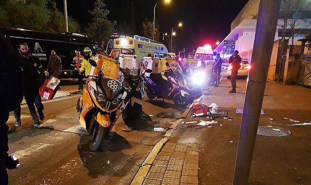 Un presunto atentado deja 13 soldados israelíes heridos en Jerusalén