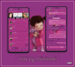Blur Girl Theme For YOWhatsApp & Fouad WhatsApp By CMF