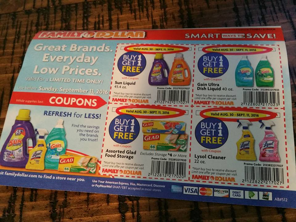 Family Dollar Deals: New Store Coupons For September 2016