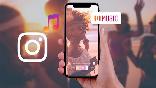 Cara menggunakan stiker Instagram Music