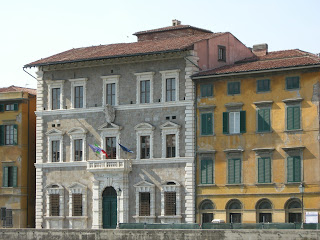 The Palazzo alla Giornata, part of the University of Pisa