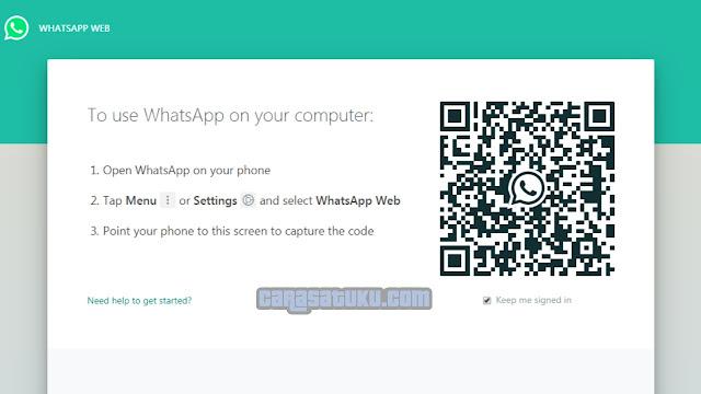 Cara Mudah Membuka   WhatsApp di Laptop