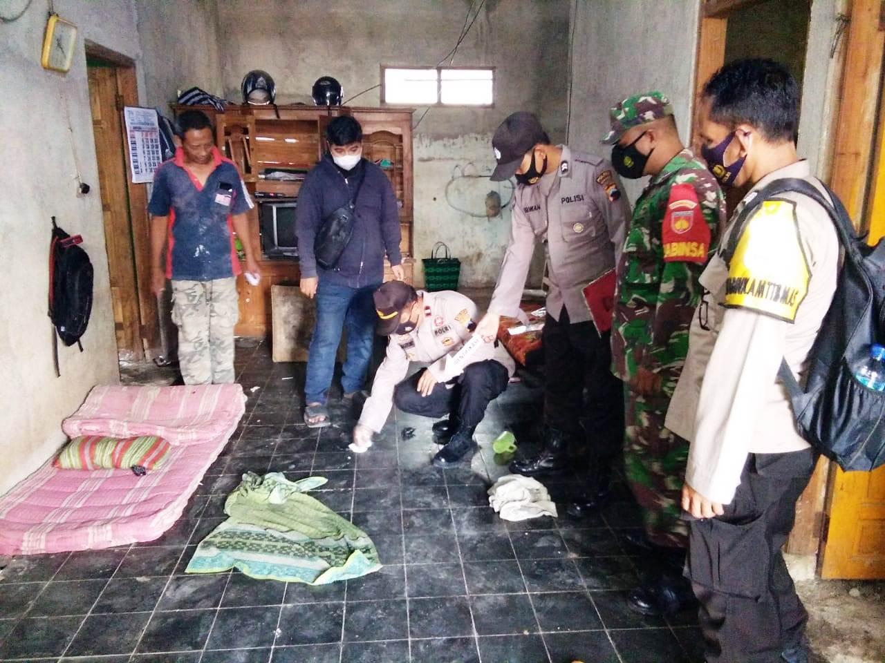 Innalillahi! Polisi Temukan Botol Bekas Racun Serangga di TKP
