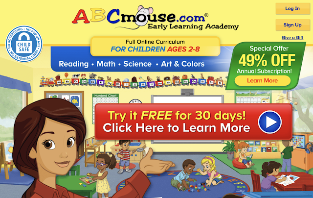 ABC Mouse early learning program