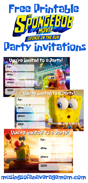 Sponge on the Run party