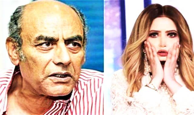 الفنان أحمد بدير يقاضي مي العيدان بسب التنمر
