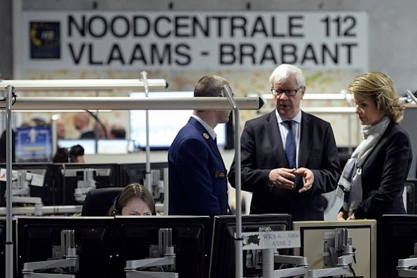 Queen Mathilde and King Philippe of Belgium visited the Emergency Call Centre in Leuven. Diamond, wedding, diamond rings