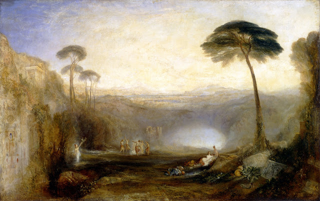 JMW Turner. Le Rameau d'or, exposé en 1834. Photo © Tate