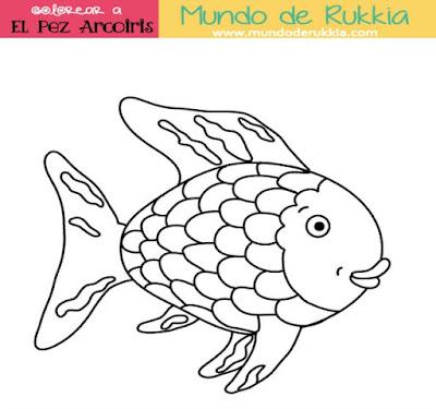 Cuento El Pez Arcoiris. 12 Actividades y Manualidades. - Mundo de Rukkia